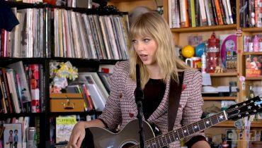 Taylor Swift w nietypowej odsłonie. Artystka pojawiła się w cyklu Tiny Desk Concert