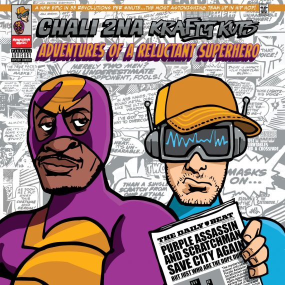 "Chali 2na & Krafty Kuts – ""Adventures Of A Reluctant Superhero"" (recenzja)"