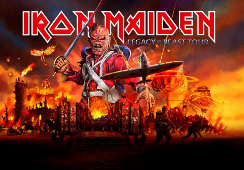 Iron Maiden na stadionowym koncercie w Polsce