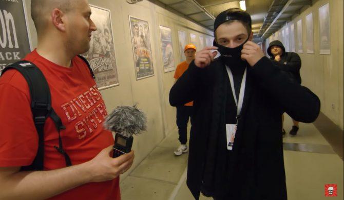 """L-Pro wyjaśnia, dlaczego zdjął maskę Kamerzyście. """"Znieważył mnie"""""""