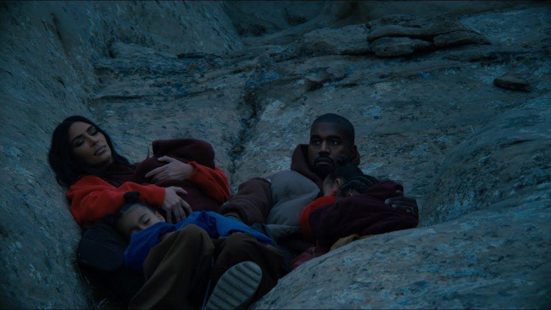 Kim w nowym klipie Kanyego Westa