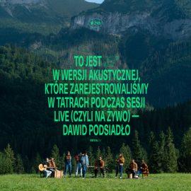 """Dawid Podsiadło – """"EP (na żywo, akustycznie)"""""""