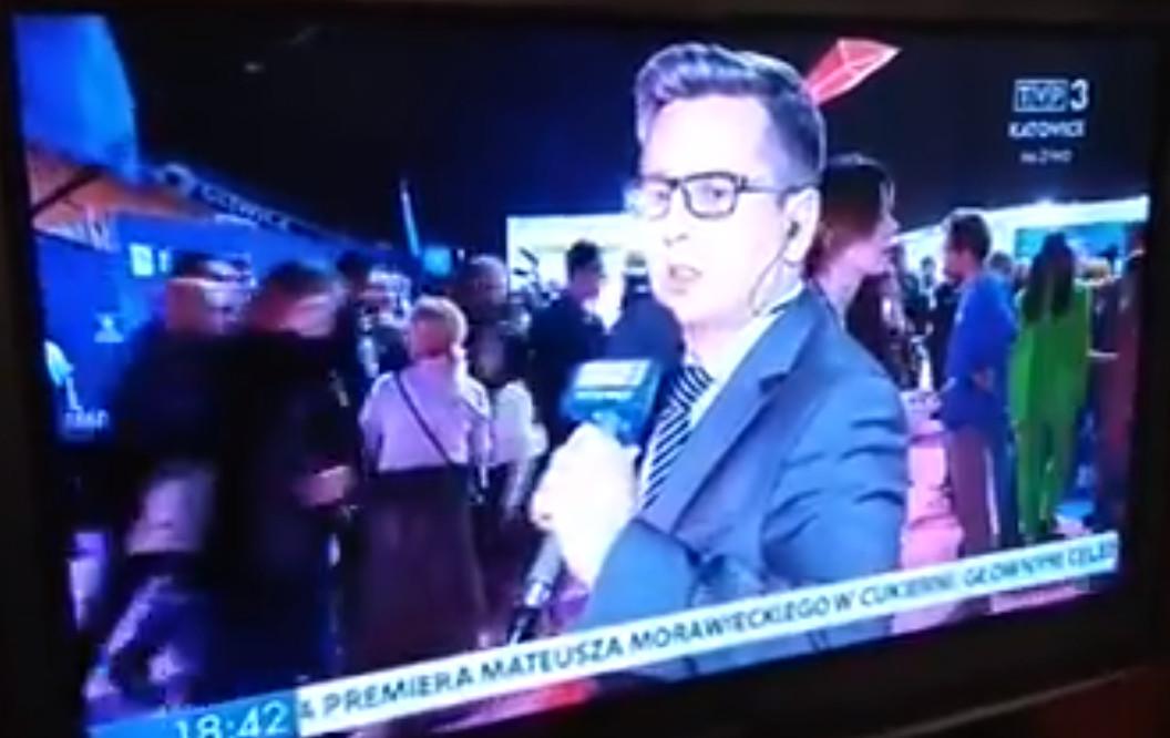 """""""K***a"""" w relacji z Eurowizji Junior. Reporter TVP nie wiedział, że jest na wizji"""