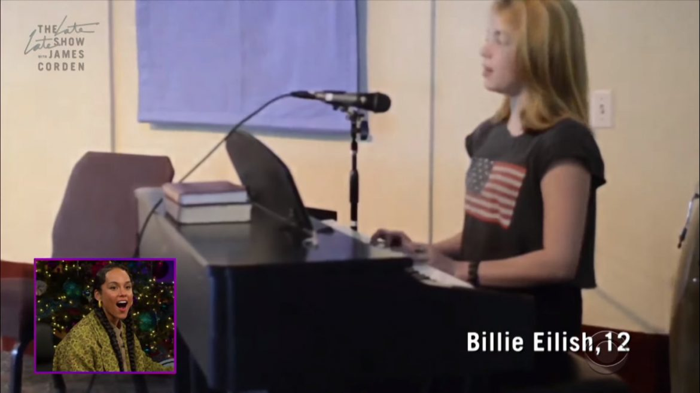 12-letnia Billie Eilish coveruje klasyk Alicii Keys (wideo)