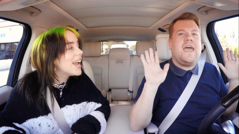 Billie Eilish w nowym odcinku Carpool Karaoke Jamesa Cordena