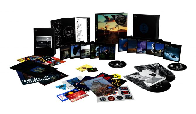 Królewski box Pink Floyd