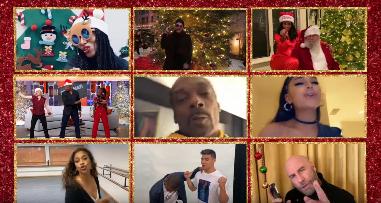 Ariana Grande, Kim Kardashian, Snoop Dogg i Floyd Mayweather świętują z Carey