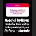 Filipek o walce Resta, ulubionych płytach 2019 i FAME MMA