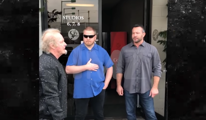 Perkusista Aerosmith zatrzymany pod salą prób przez ochronę zespołu
