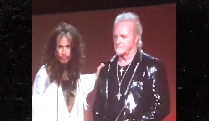 """Aerosmith i """"zatrzymany przez ochronę perkusista"""" na jednej scenie"""