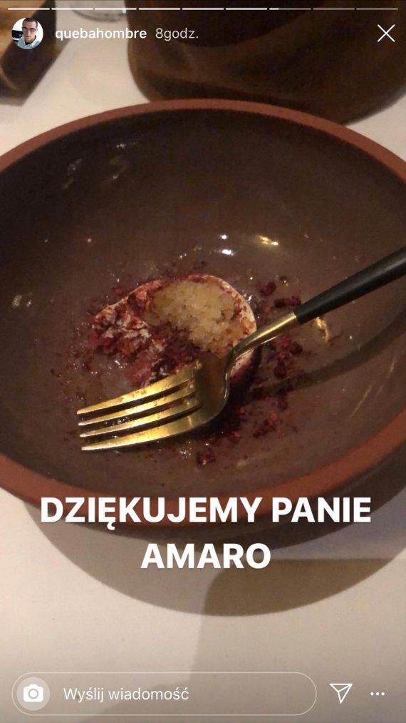 Quebo z Natalią Szroeder w walentynki u Amaro. Raper odwiedził też Vitkaca