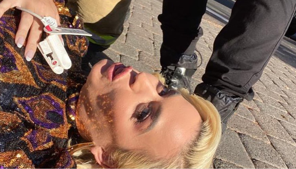 Katy Perry straciła przytomność na planie Idola? Fakt czy element show?