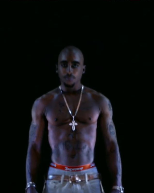 Tupac w reklamie nowej kolekcji znanego brandu streetwear'owego