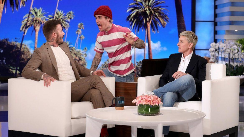 Justin Bieber straszy Davida Beckhama. Zobaczcie prank z amerykańskiej telewizji