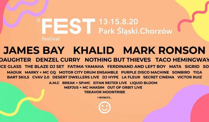 Fest Festival także przeniesiony na przyszły rok