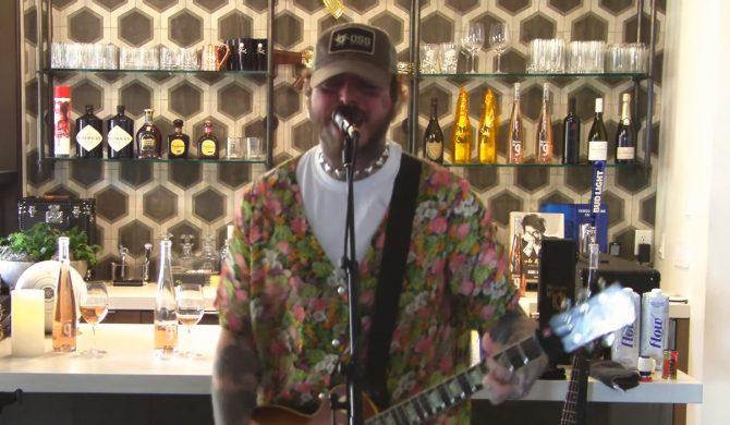 Post Malone zorganizował wyjątkowy livestream w hołdzie Nirvanie