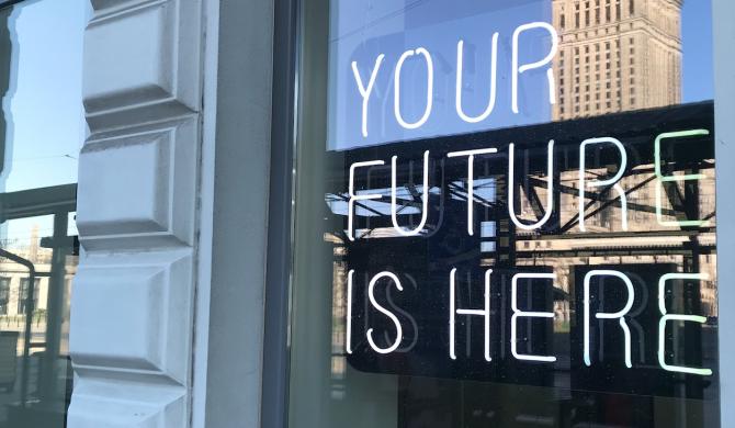 Felieton Organka:  YOUR FUTURE IS HERE