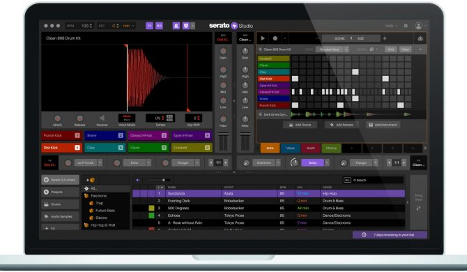 Serato Studio udostępnia za darmo znakomite narzędzie do produkcji muzyki