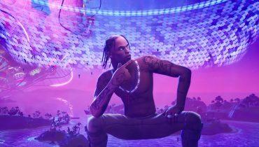 """Travis Scott na koncercie w """"Fortnite"""" zarobił dwadzieścia razy więcej niż zarabia na występach w realu"""