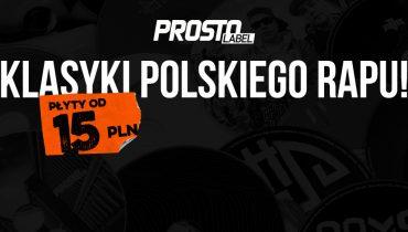 Klasyki polskiego rapu w świetnych cenach