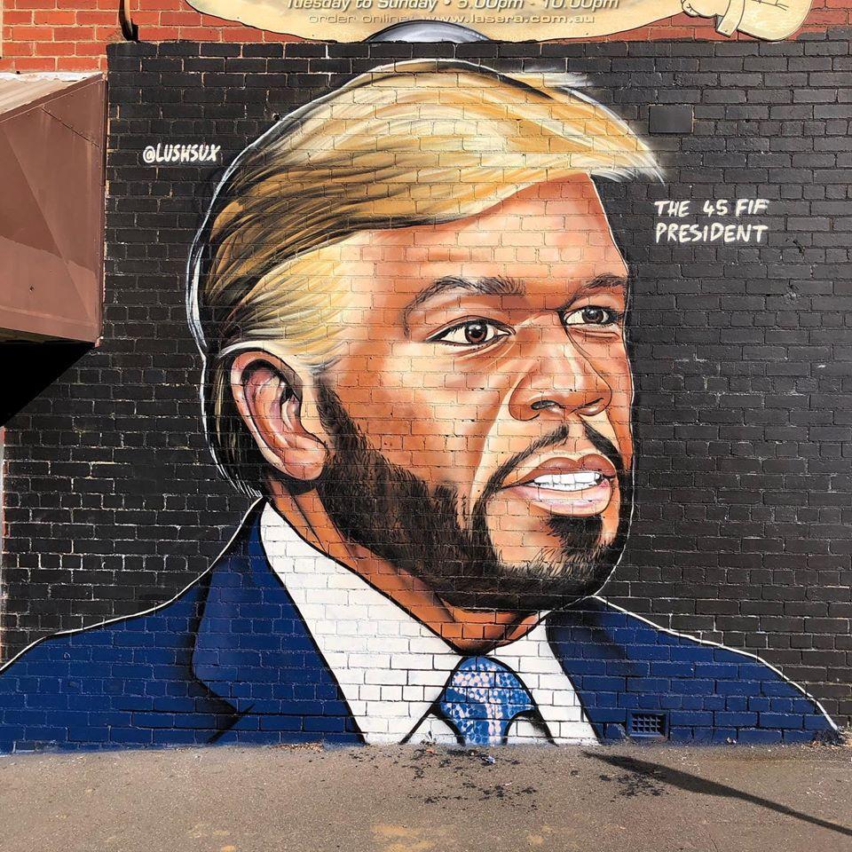 50 Cent kontra australijski artysta. Nietypowy beef w sieci