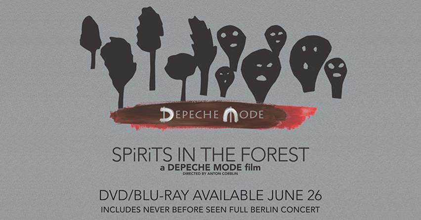 """Zobacz przedpremierowo koncert Depeche Mode z płyty """"SPiRiTS in the Forest"""" na dużym ekranie"""