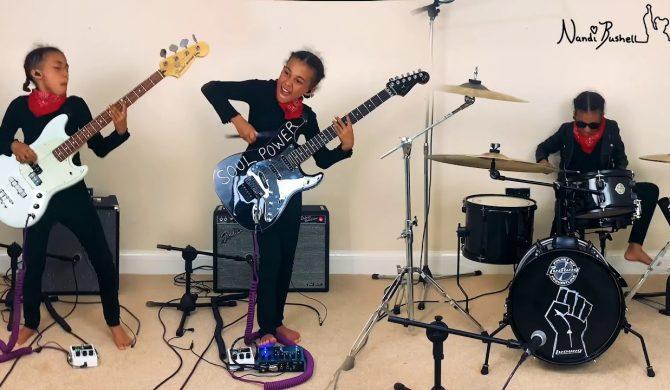 "10-letnia Nandi Bushell z kapitalną wersją ""Cochise"" Audioslave"