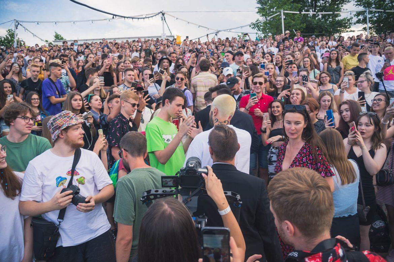 Tłumy fanów na spotkaniu z Quebonafide