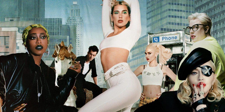 """Dua Lipa i  dwie ikony muzyki w nowej wersji """"Levitating"""""""