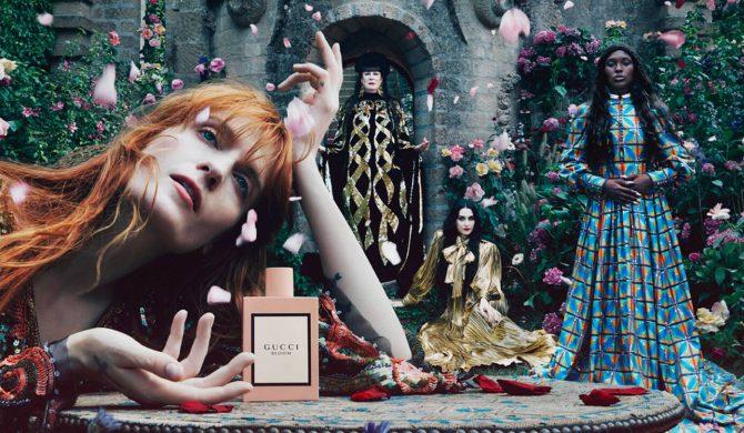 Florence Welch w nowej kampanii Gucci
