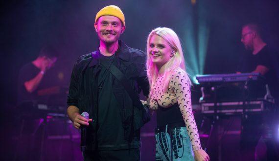 Margaret z mężem, Young Igim i Otschodzi na scenie Praga Centrum