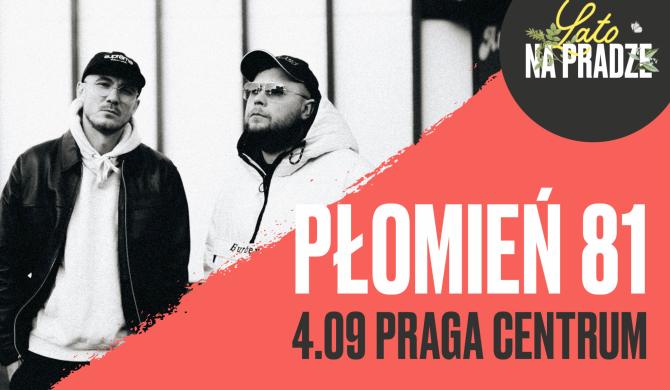 Płomień 81 w Pradze Centrum
