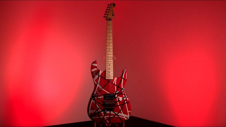 Gitara Eddiego Van Helena trafi na aukcję