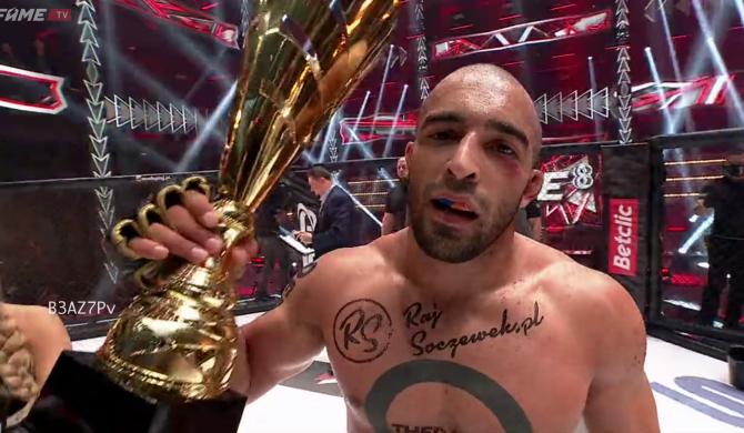 FAME MMA 8: Lepszego debiutu Arab nie mógł sobie wymarzyć