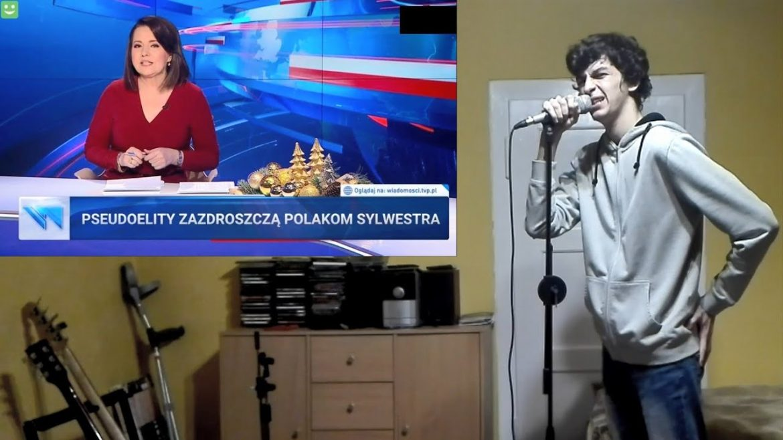"""Powstała piosenka z """"pasków"""" Wiadomości TVP"""
