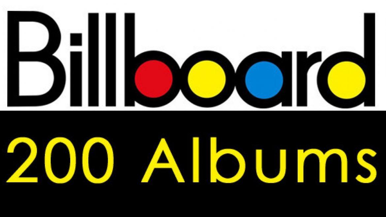 Mamy listę wszystkich jedynek na liście Billboard 200