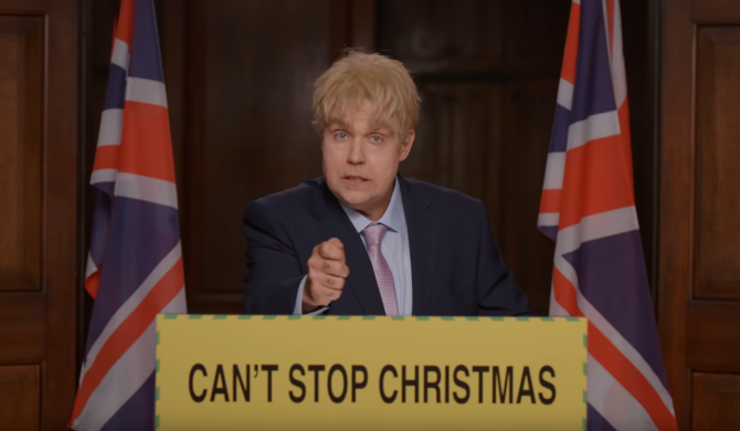 Robbie Williams parodiuje premiera Wielkiej Brytanii