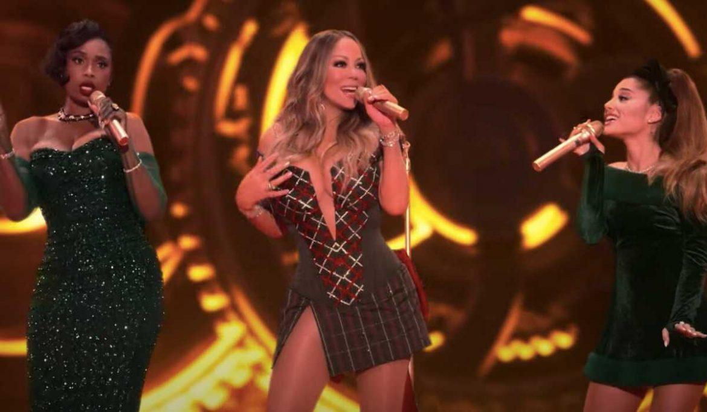 Mariah Carey, Ariana Grande i Jennifer Hudson łączą siły w świątecznych hicie