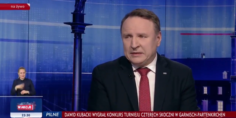 Prezes TVP wychwala sylwestra TVP na antenie TVP. I krytykuje Polsat