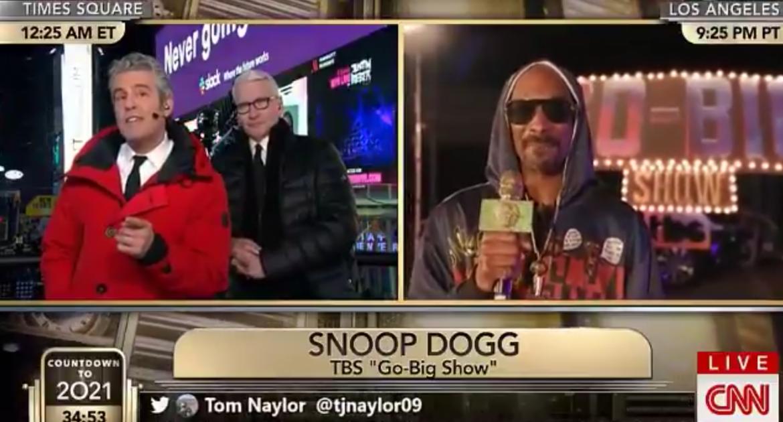 """Snoop Dogg """"ugotował"""" prezentera CNN, po tym jak przyznał, że był na haju w Białym Domu"""