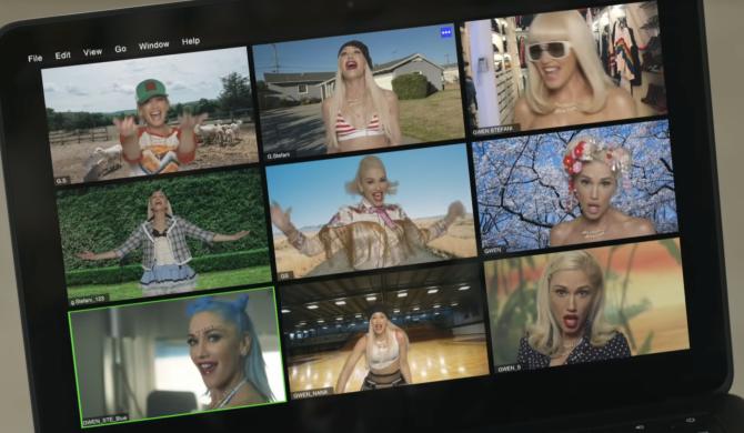 Wszystkie ważne przemiany wizerunkowe w nowym klipie Gwen Stefani