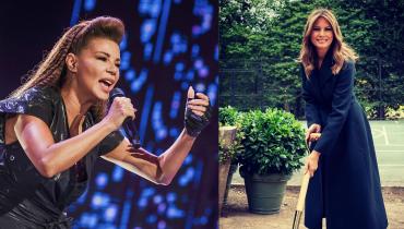 Edyta Górniak śpiewa dla Melanie Trump piosenkę zagorzałej przeciwniczki byłego prezydenta USA