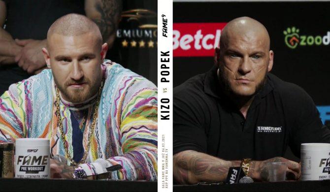 """Popek i Kizo przed Fame MMA: """"Nie znałem go wcześniej"""". """"Poznaliśmy się na koncercie, możesz tego nie pamiętać"""""""