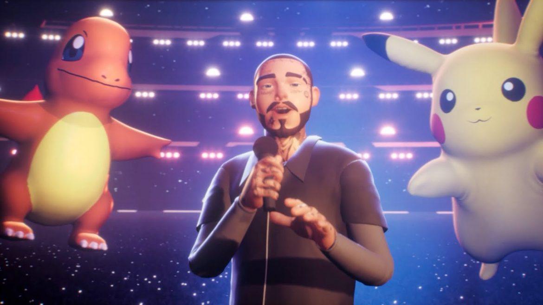 Post Malone zagrał wirtualny koncert w świecie Pokémonów