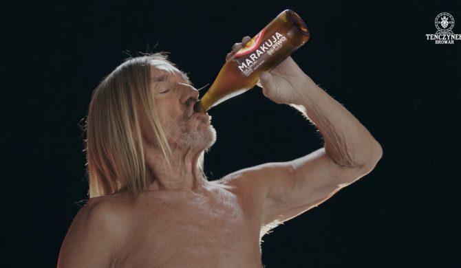 Iggy Pop reklamuje piwo produkowane przez Janusza Palikota i Kubę Wojewódzkiego