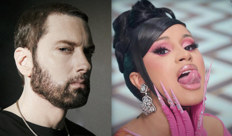 Eminem odrzucił propozycję współpracy z Cardi B? Raperka odpowiada