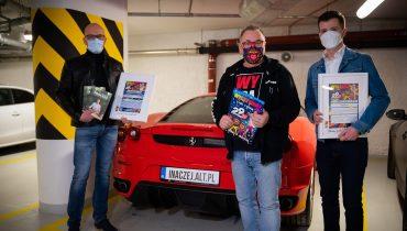 Rekordowa aukcja WOŚP zakończona. Ferrari F430 F1  ma już nowego właściciela