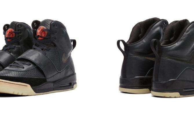 Prototyp butów Yeezy Kanye Westa trafi na aukcję. Cena Nike'ów, w których raper wystąpił podczas Grammy zwala z nóg