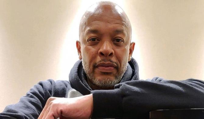 Dr. Dre w studiu z legendą muzyki