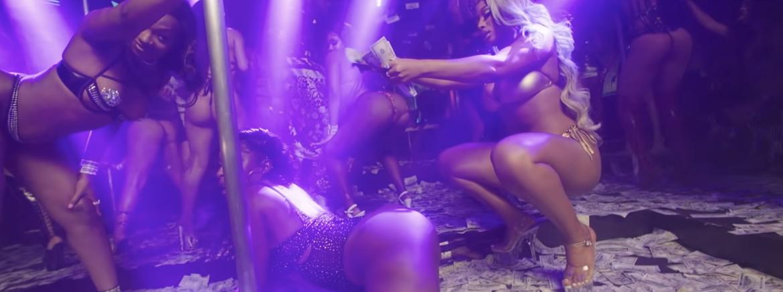 Seksowna Megan Thee Stallion wybrała się z Lil Durkiem do klubu ze striptizem